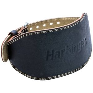 Harbinger 6 in Padded Leather Lifting Belt NWT